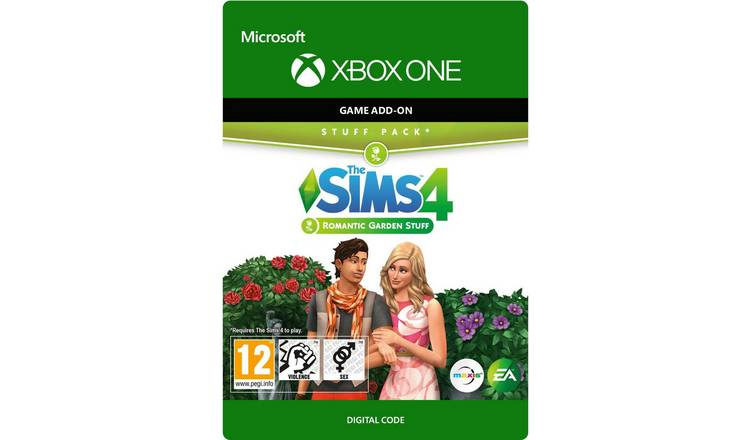 The Sims 4 Romantic Garden Expansion Xbox Digital Download
