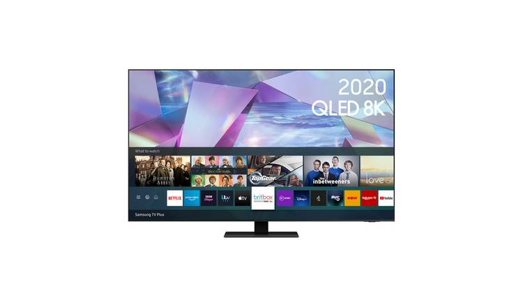 Samsung 55 Inch QE55Q700T Smart True 8K QLED TV with HDR