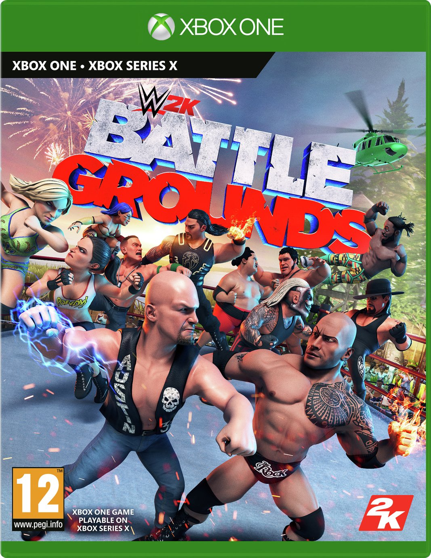 WWE Battlegrounds Xbox One Game