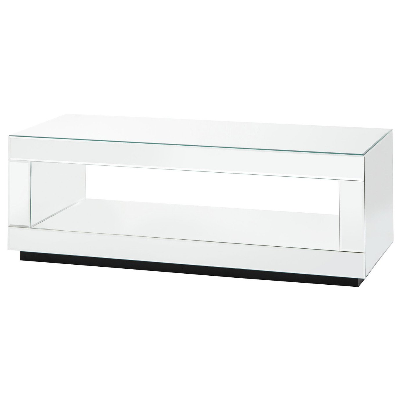 Capri Cube TV Unit - Mirrored