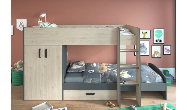 Parisot Bunk Bed with Storage
