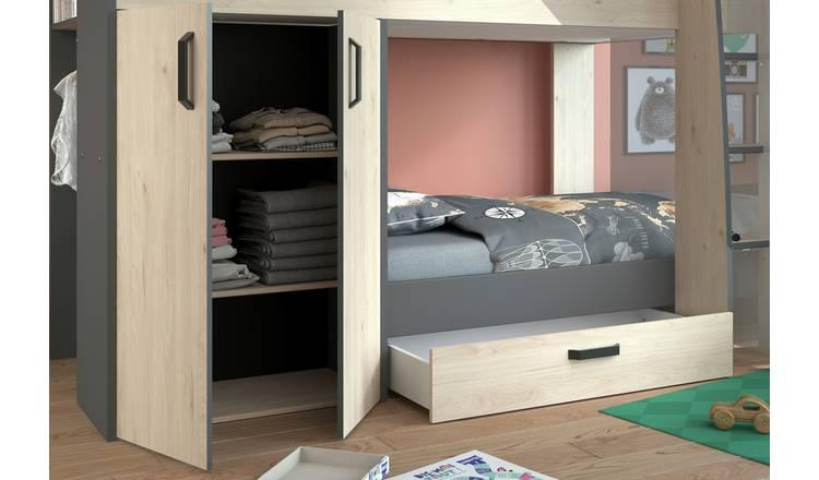 Buy Parisot Bunk Bed With Storage Kids Beds Argos