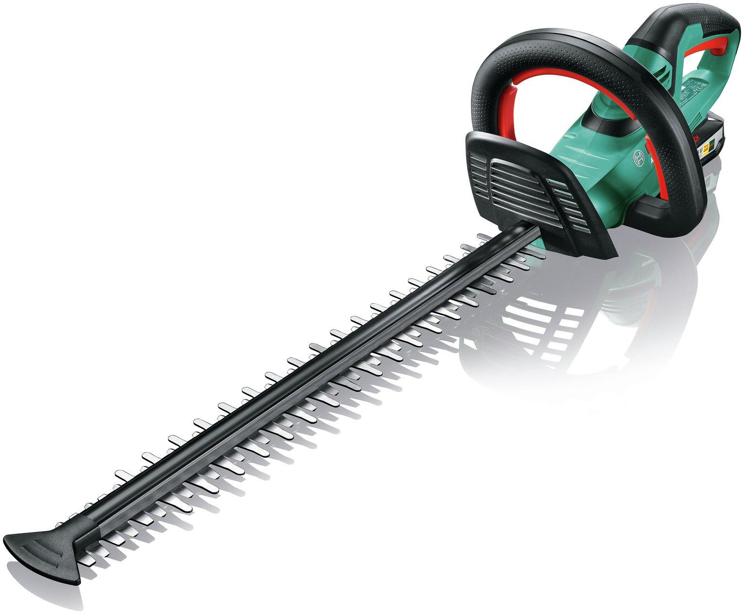 Bosch Ahs 50-20 Li 50cm Cordless Hedge Trimmer - 18V