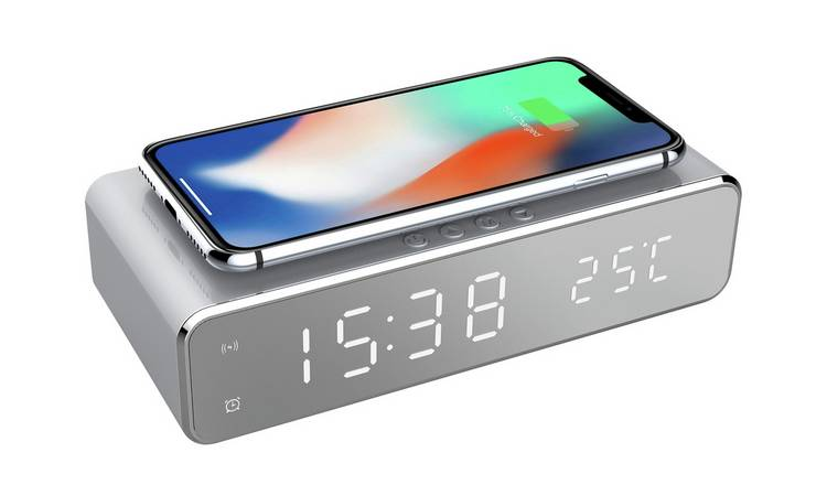 Precisions Wireless Charger Alarm Clock