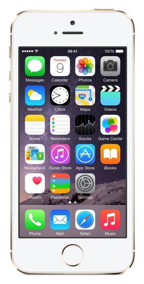 Sim Free Apple iPhone 5S 16GB Gold Premium Pre Owned