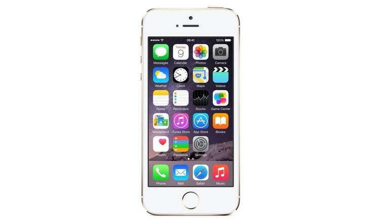 009238d8ffe31d Buy SIM Free iPhone 5S 16GB Refurbished Mobile Phone - Gold | SIM ...
