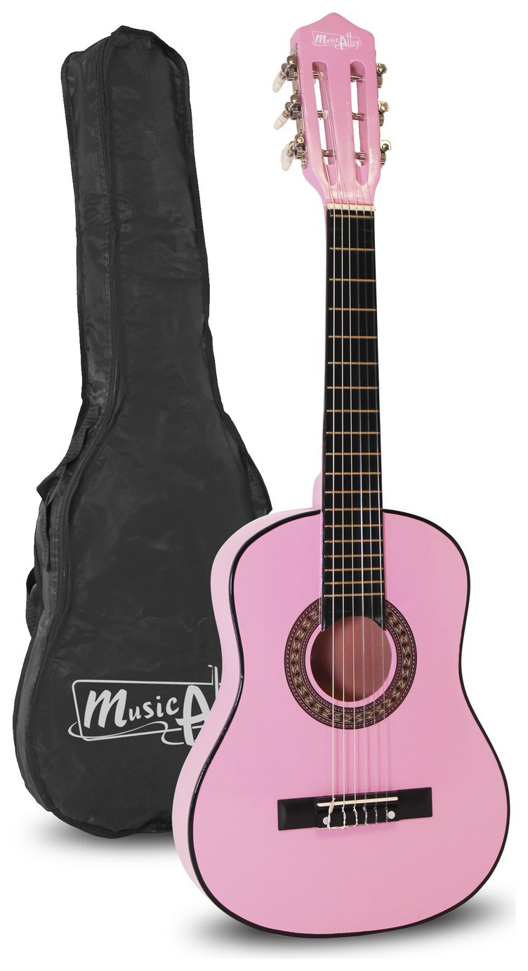 Music Alley Half Size Guitar - Pink