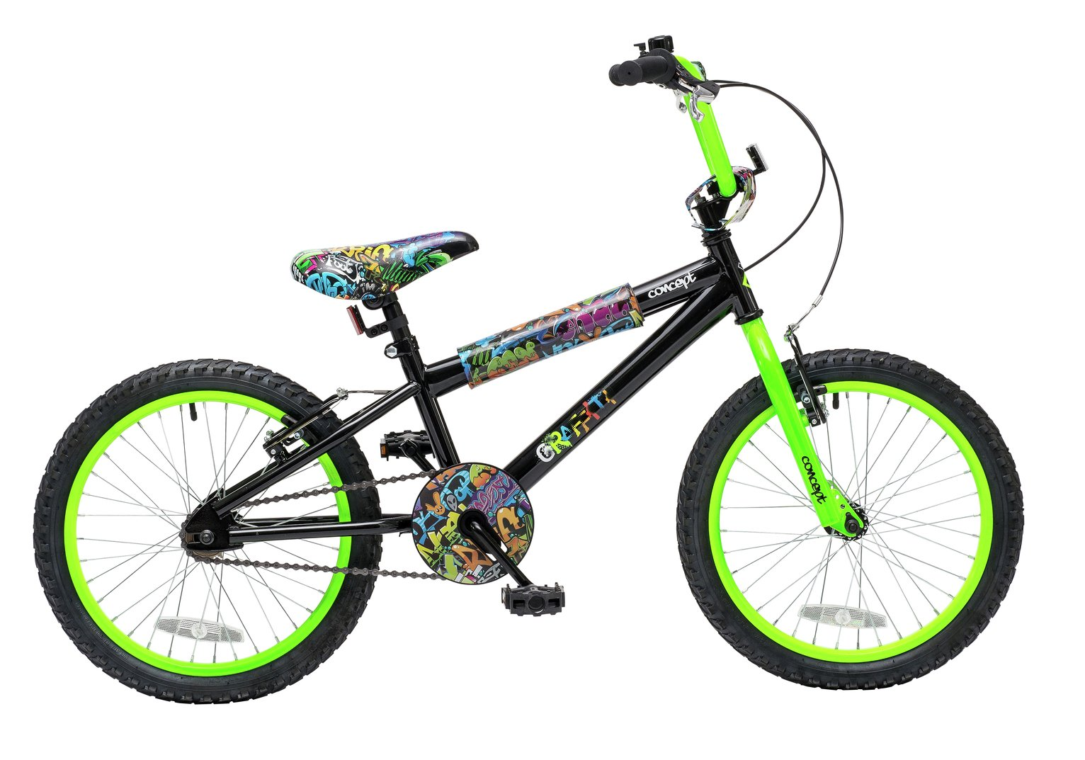 Image of Concept Graffiti 18 Wheel Kids BMX