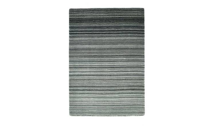 Origins Fine Stripe Rug - 120x170cm - Grey