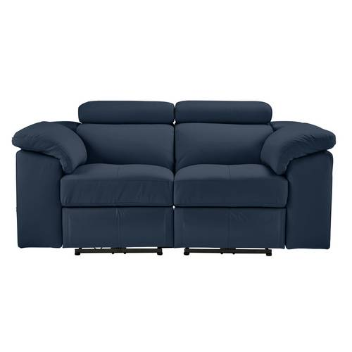 Buy Argos Home Valencia 2 Seater Leather Recliner Sofa - Blue ...