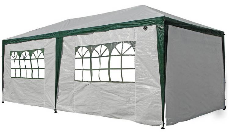 wholesale dealer 08ff7 f7d3c Buy Argos Home 3m x 6m Weather Resistant Gazebo with Side Panels   Gazebos,  marquees and awnings   Argos