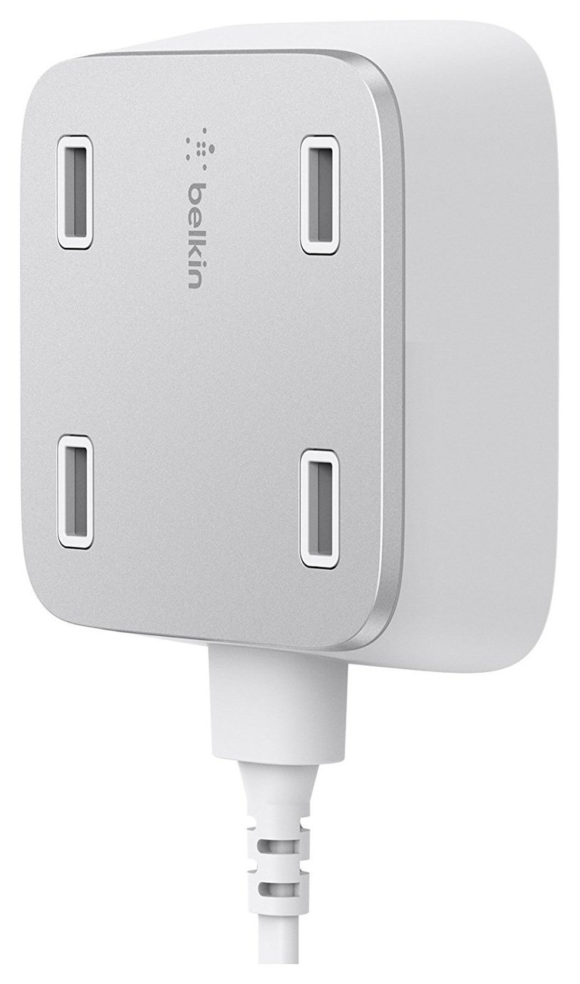 Image of Belkin Family Rockstar 4 Port USB Charger