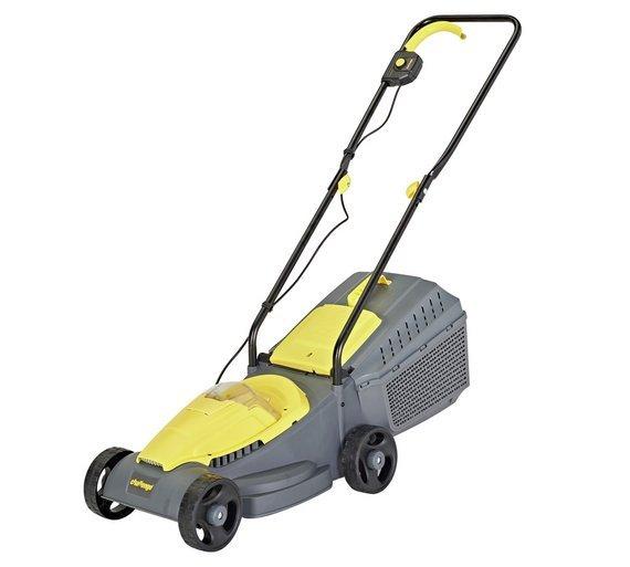Challenge 31cm Cordless Rotary Lawnmower - 18V 3.0Ah