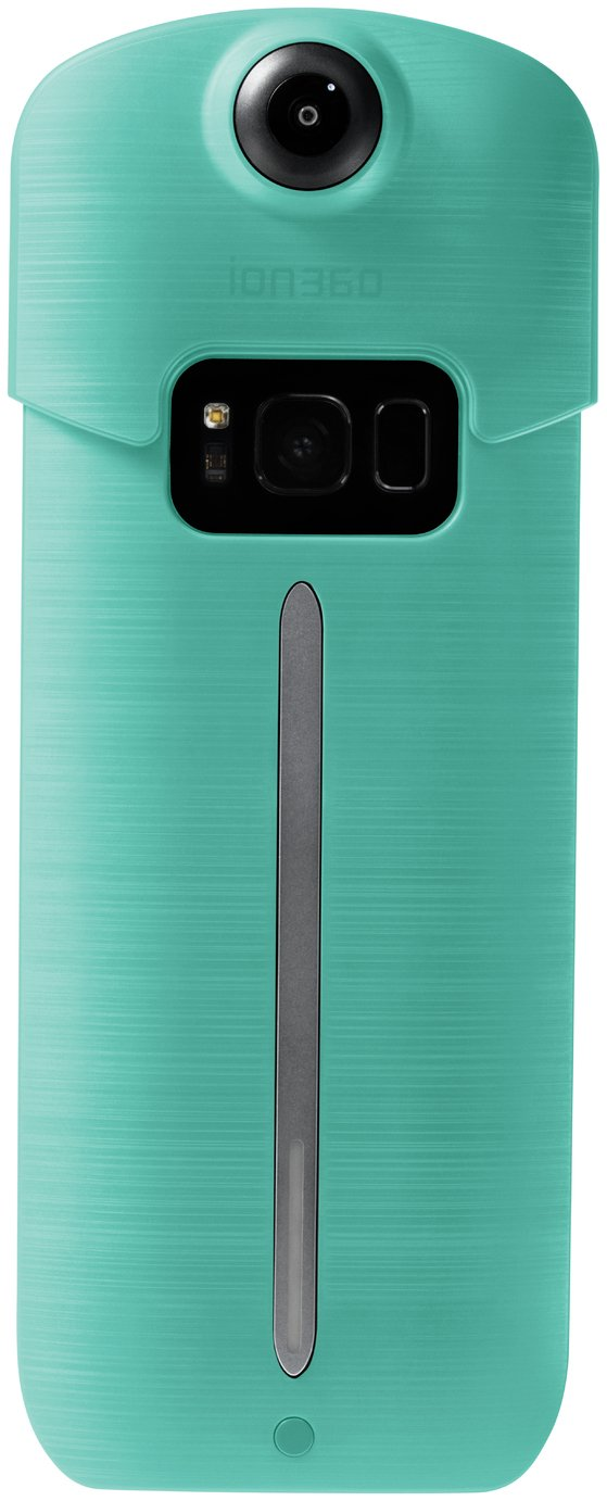 Search and compare best prices of Ion360 U Samsung Galaxy S8 Plus Camera Attachment - Teal in UK