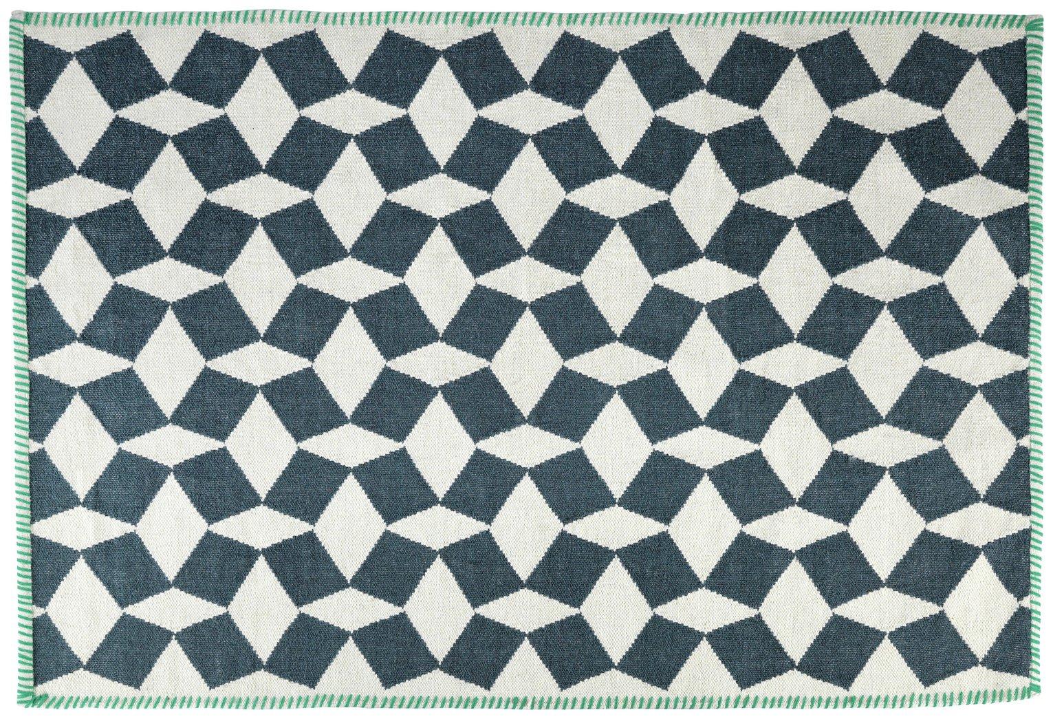 Habitat Tiles Rug - 120x180cm