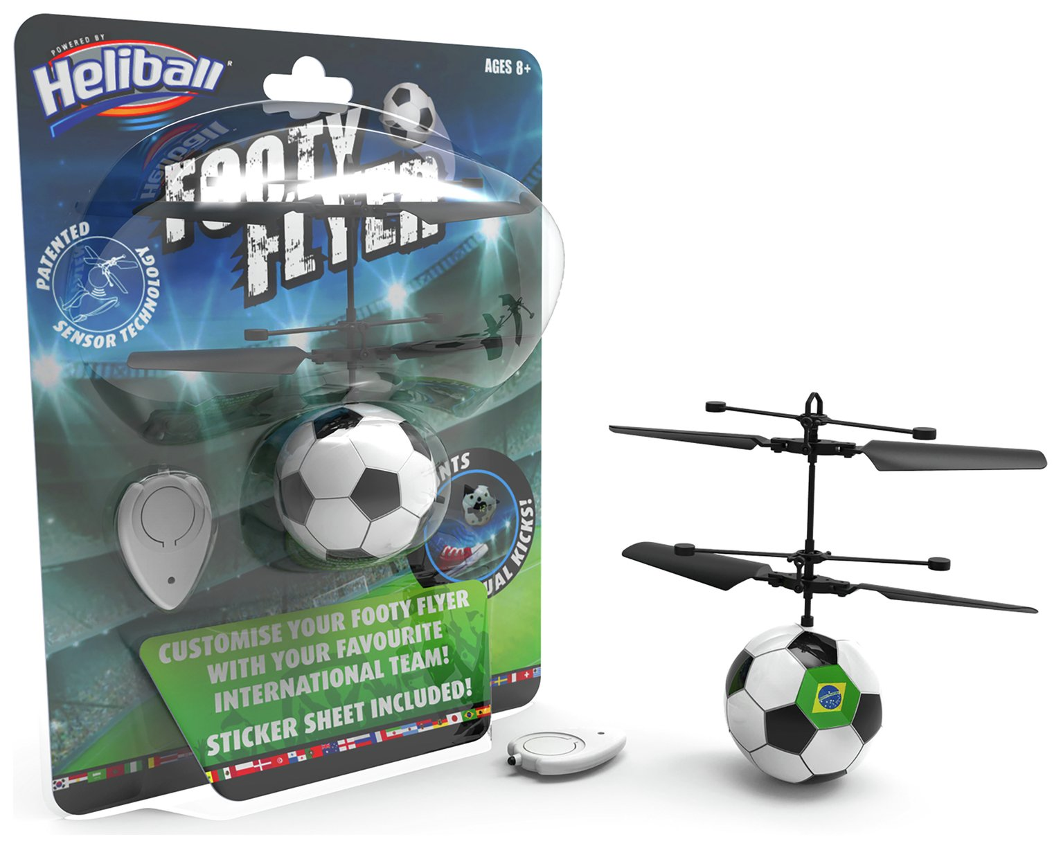 Heliball Footy Flyer