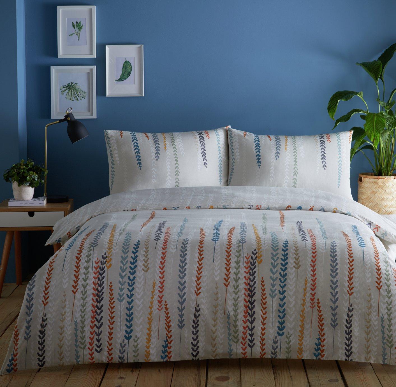 Image of Dreams N Drapes Aviano Natural Bedding Set - Kingsize