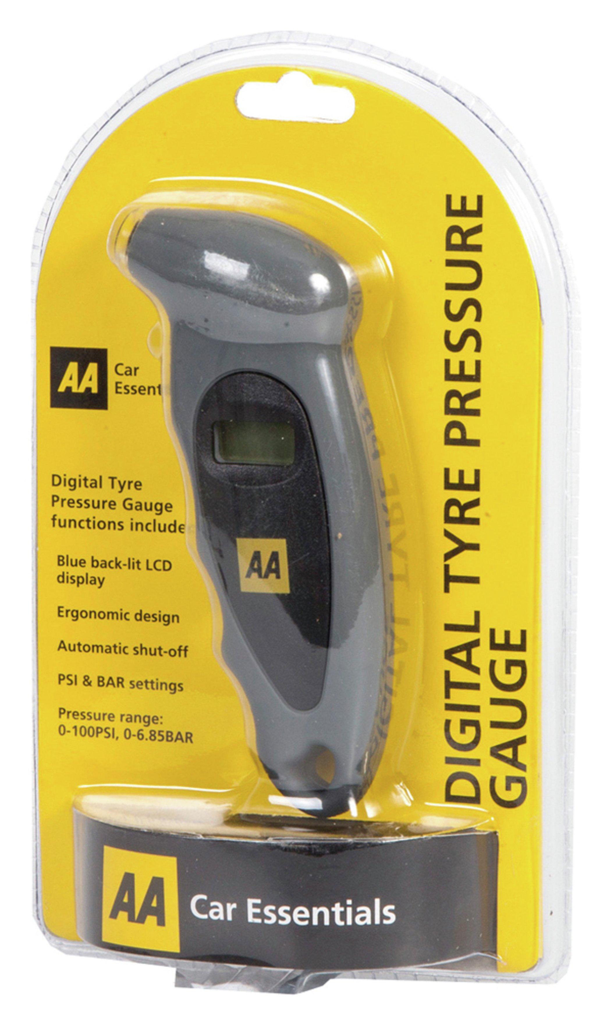 Image of AA Digital Tyre Pressure Gauge