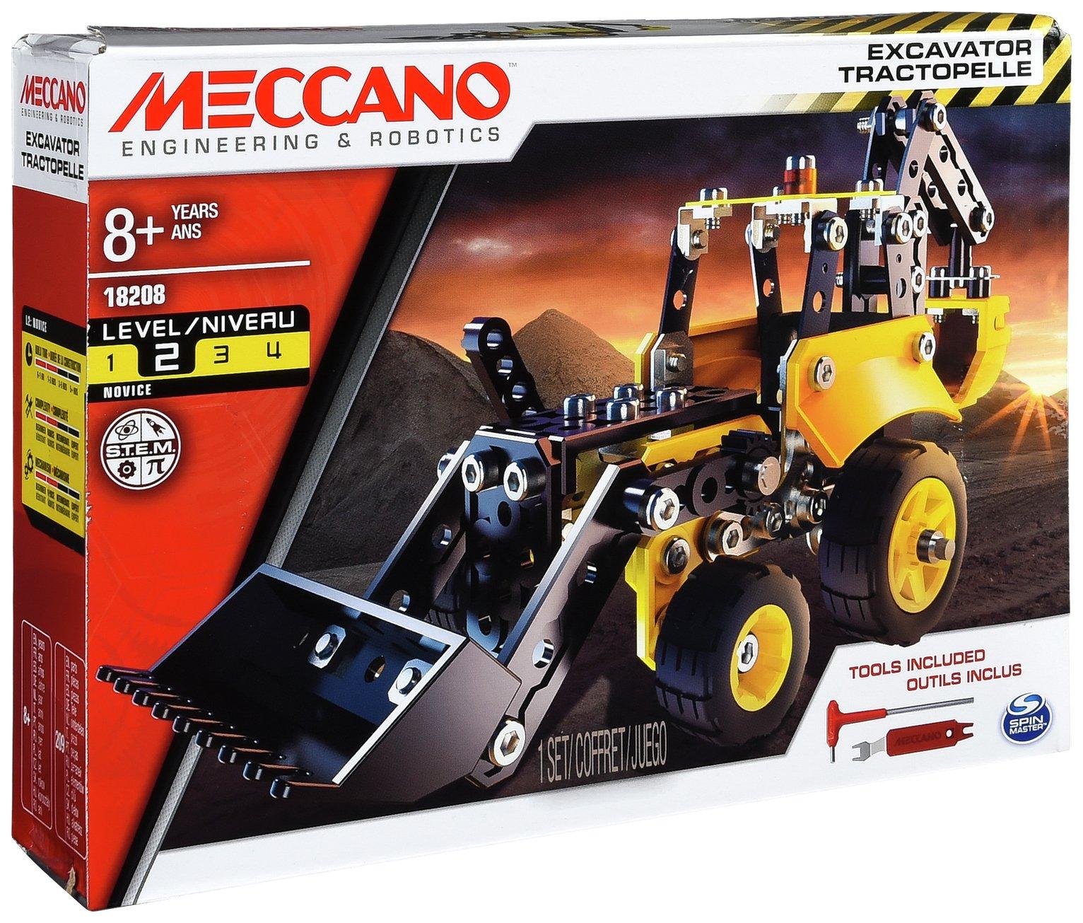 Image of Meccano Construction Digger