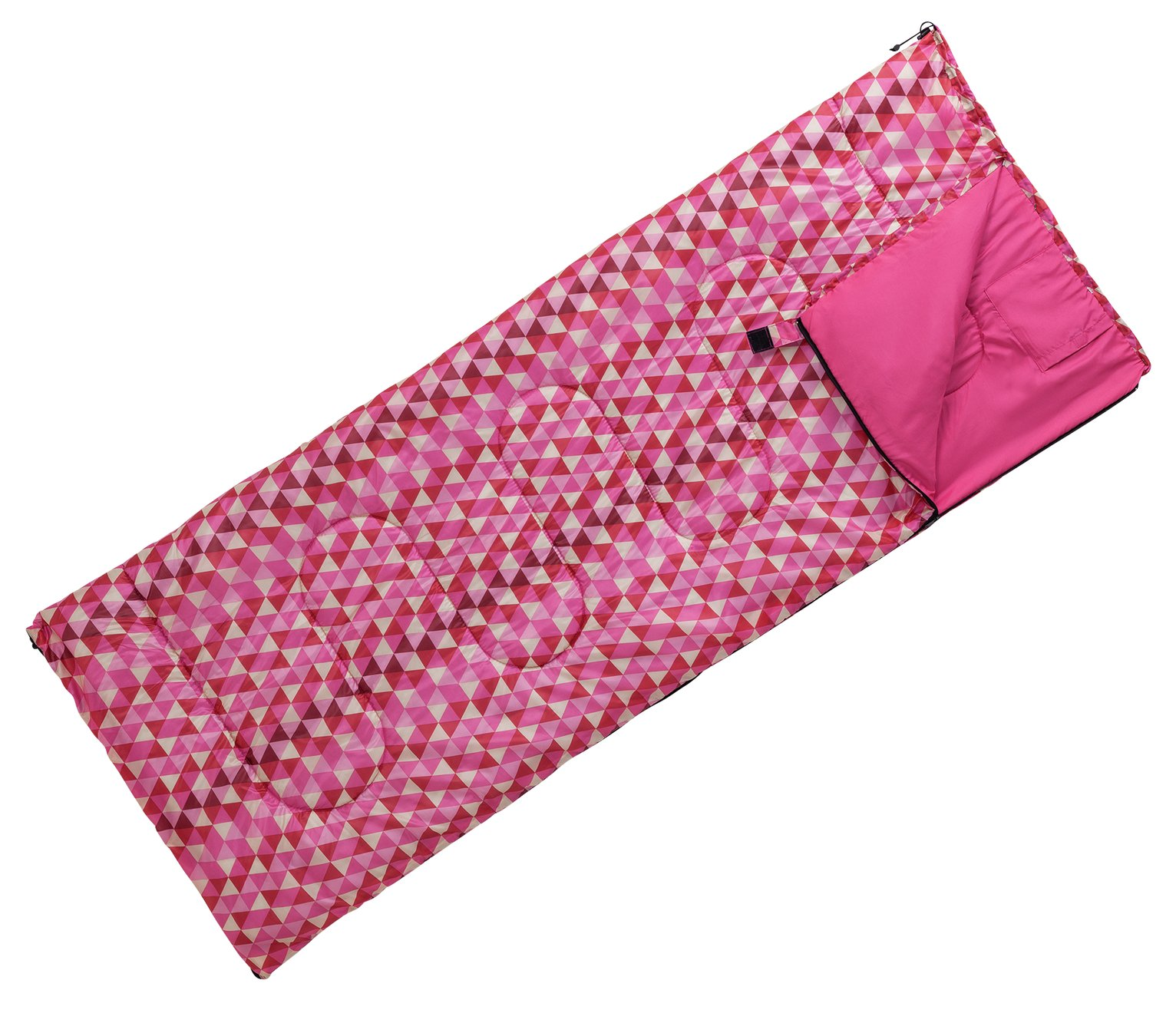 ProAction 300GSM Sleeping Bag - Aztec Pink