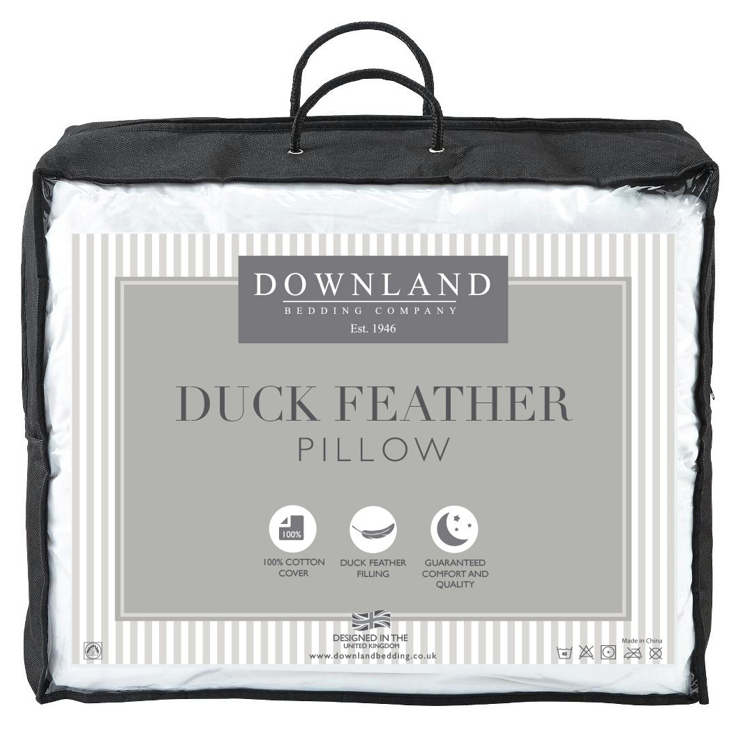 Image of Downland Duck Feather V Shape Support Pillow