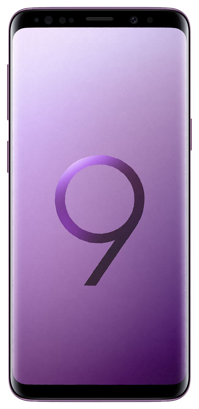 SIM Free Samsung Galaxy S9 64GB Mobile Phone - Lilac Purple