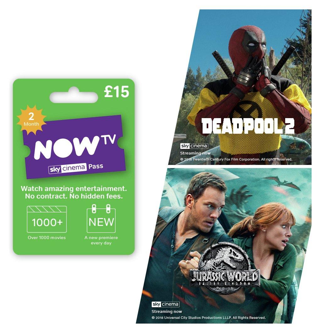 NOW TV 2 Month Sky Cinema Pass