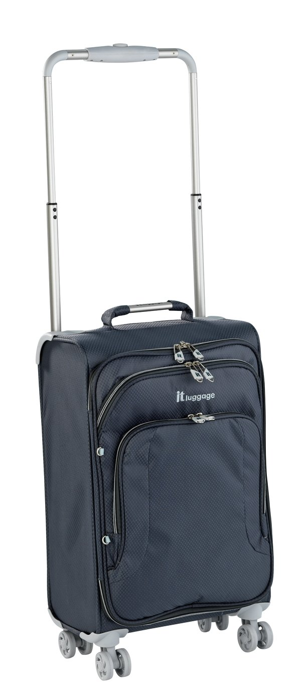 IT Luggage World's Lightest 8 Wheel Case - Charcoal