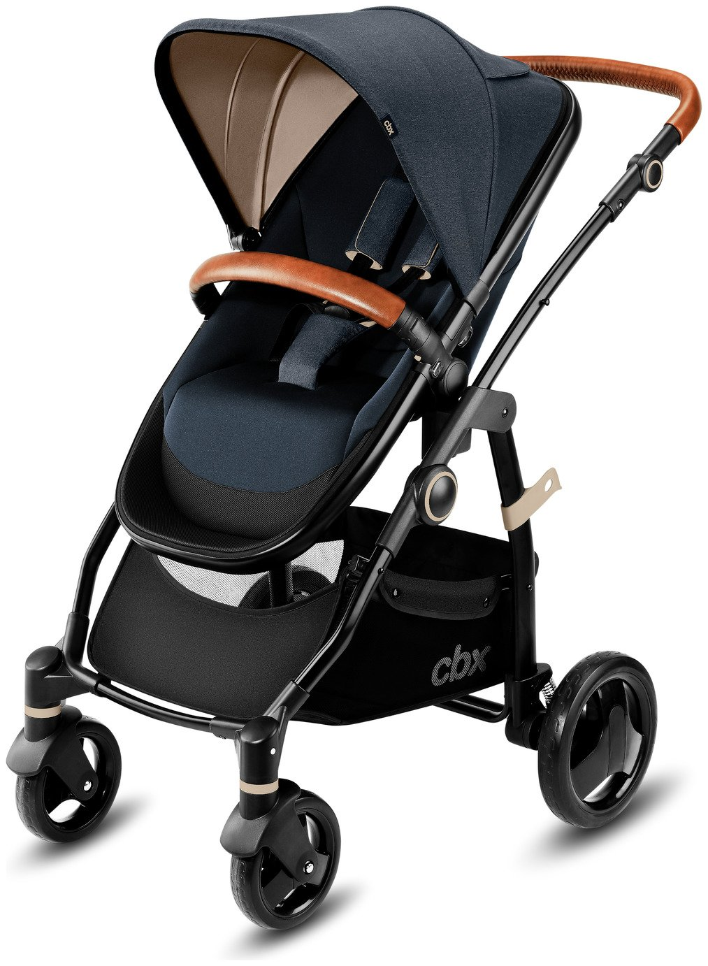 Image of CBX Leotie Lux Pushchair and Carry Cot – Jeansy Blue 2019