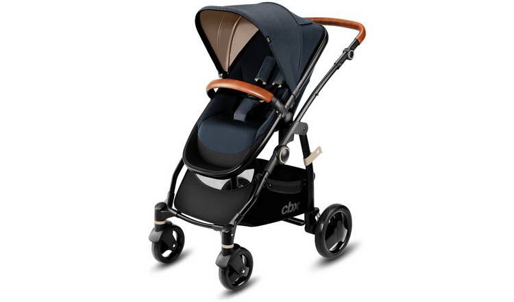 Buy Cbx Leotie Lux Pushchair Carry Cot Jeansy Blue Prams And Pushchairs Argos