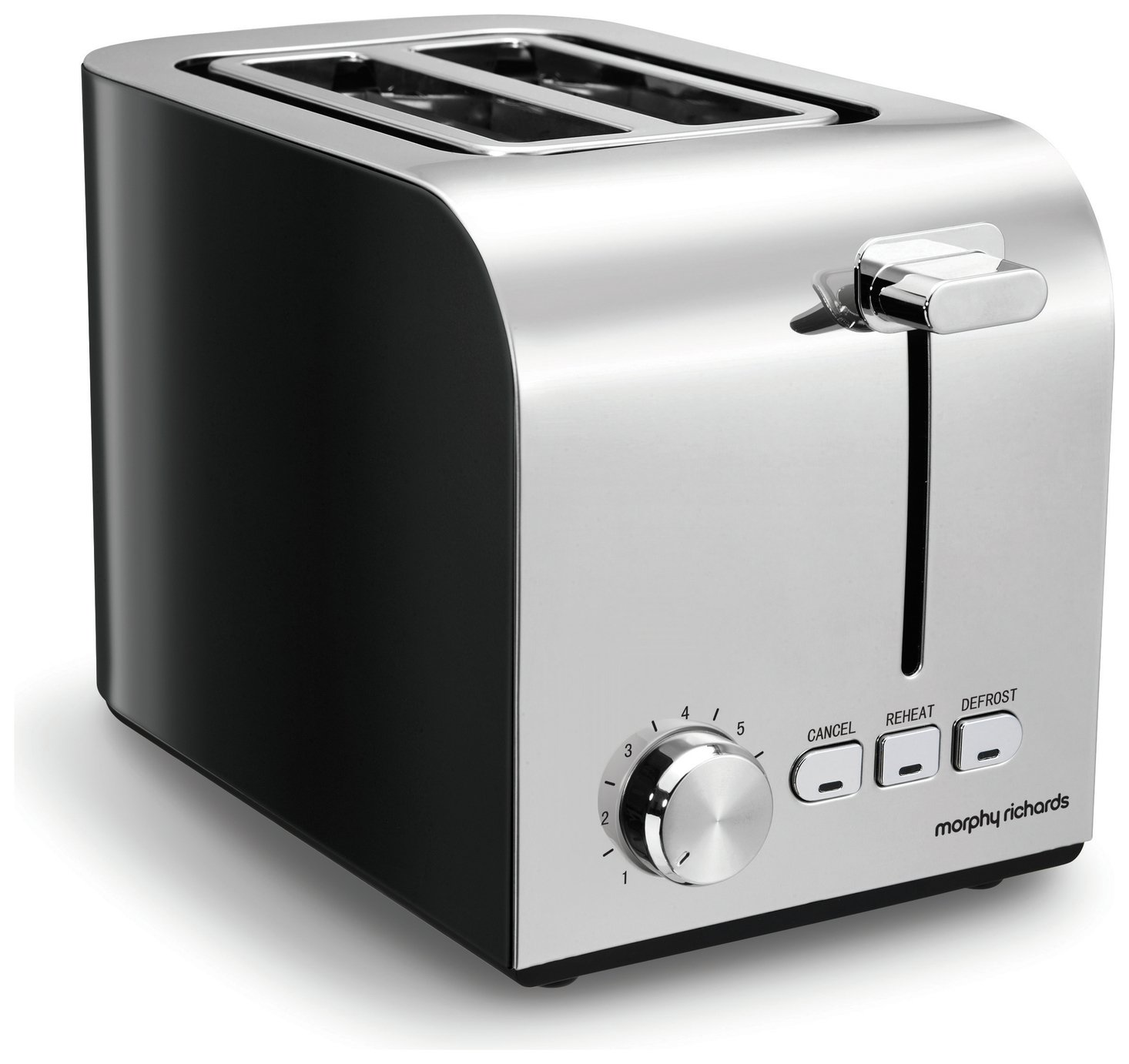 Morphy Richards 222054 Equip 2 Slice Toaster - Black