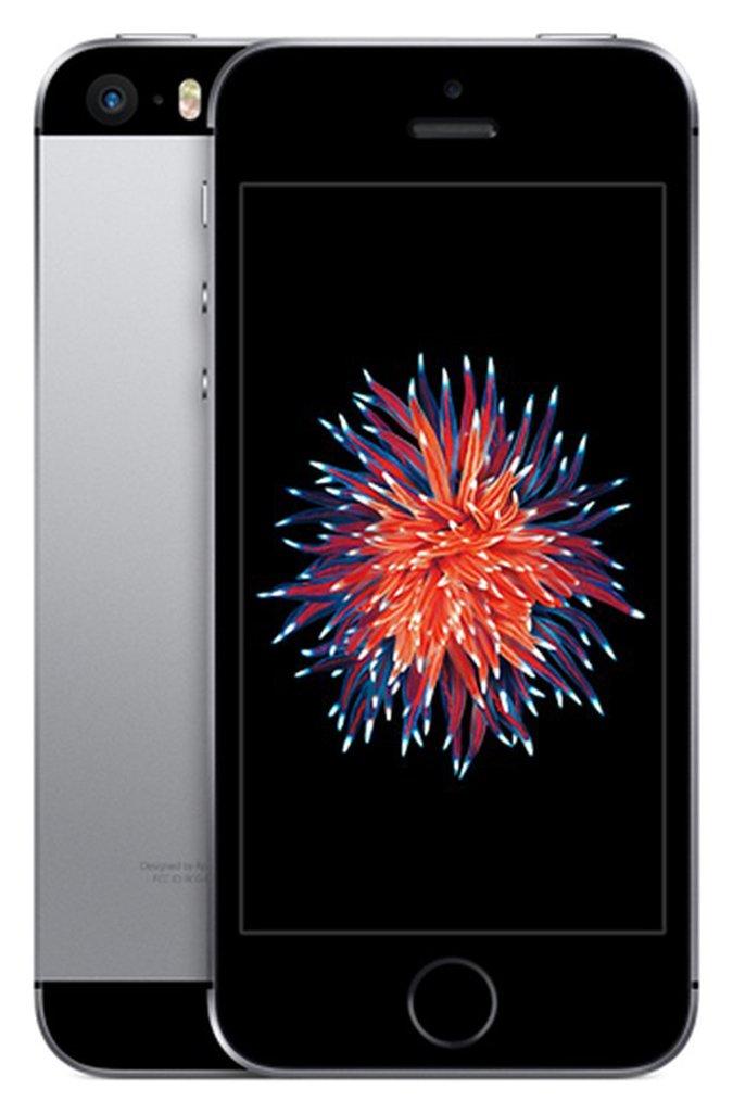 SIM Free iPhone SE 16GB Refurbished Mobile Phone - Grey