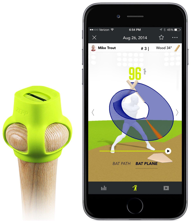 Zepp 2 Baseball Swing Tracker