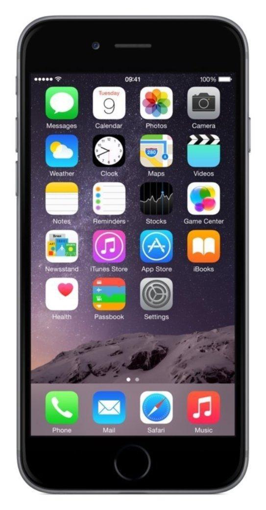 SIM Free iPhone 6 64GB Refurbished Mobile Phone - Space Grey