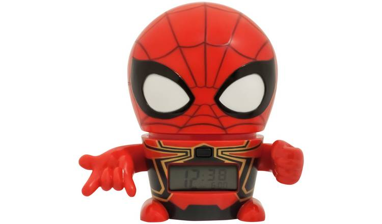690a9780fc97 Buy BulbBotz Marvel Avengers  Infinity War Spiderman Alarm Clock ...
