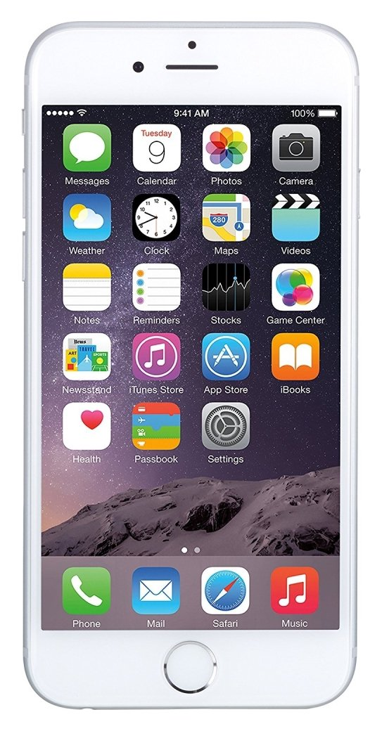 SIM Free iPhone 6 64GB Refurbished Mobile Phone - Silver