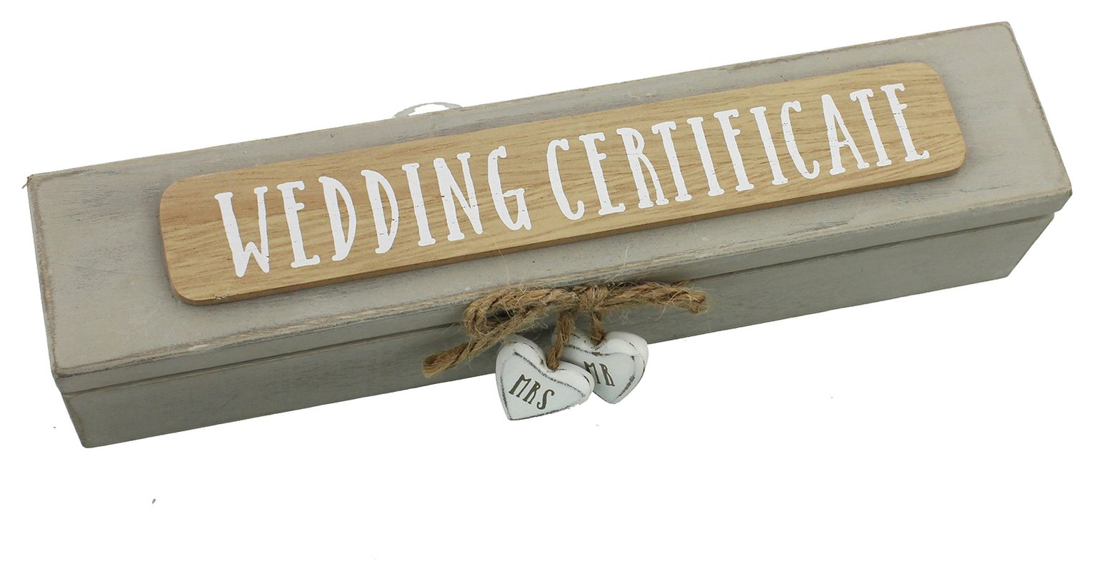 Image of Wedding Certificate Box