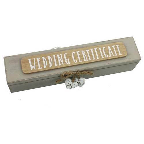 Buy Wedding Certificate Box Novelty Gifts Argos