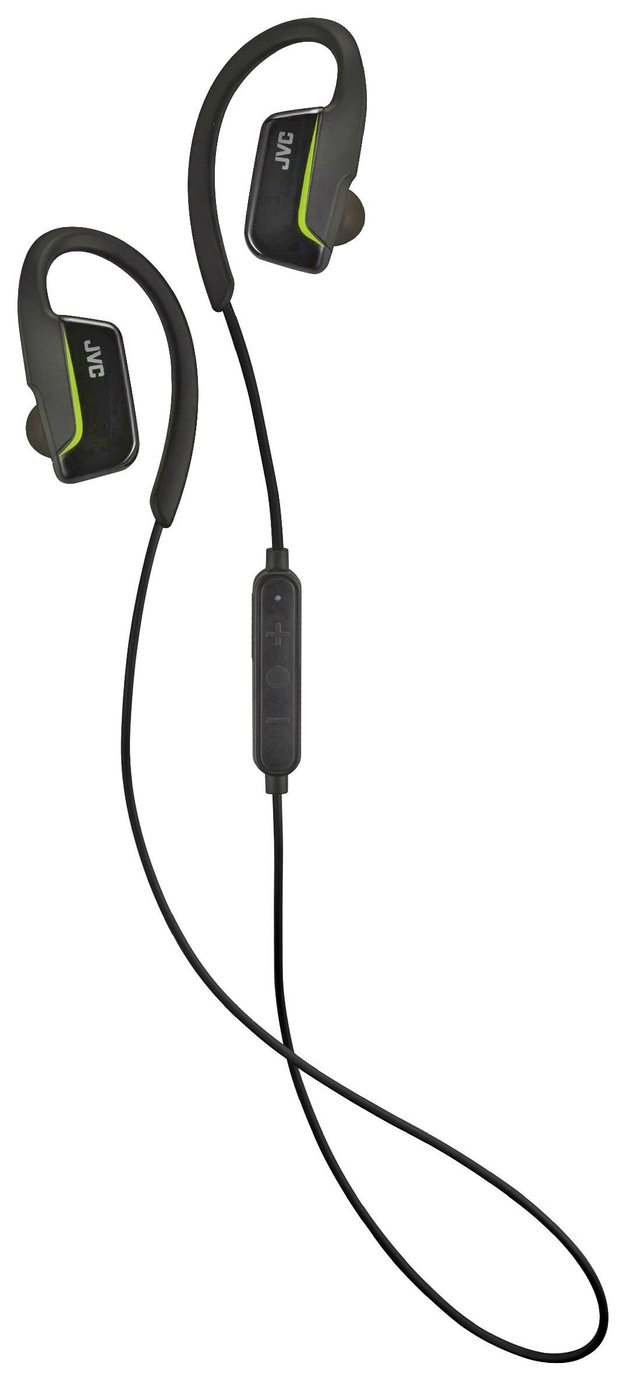 JVC HA-EC30BT Wireless In-Ear Sports Headphones- Black