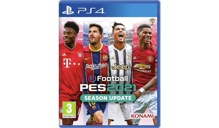 PES 2021 Season Update PS4 Game