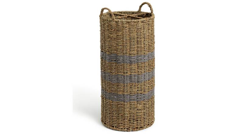 Argos Home Seagrass Umbrella Basket
