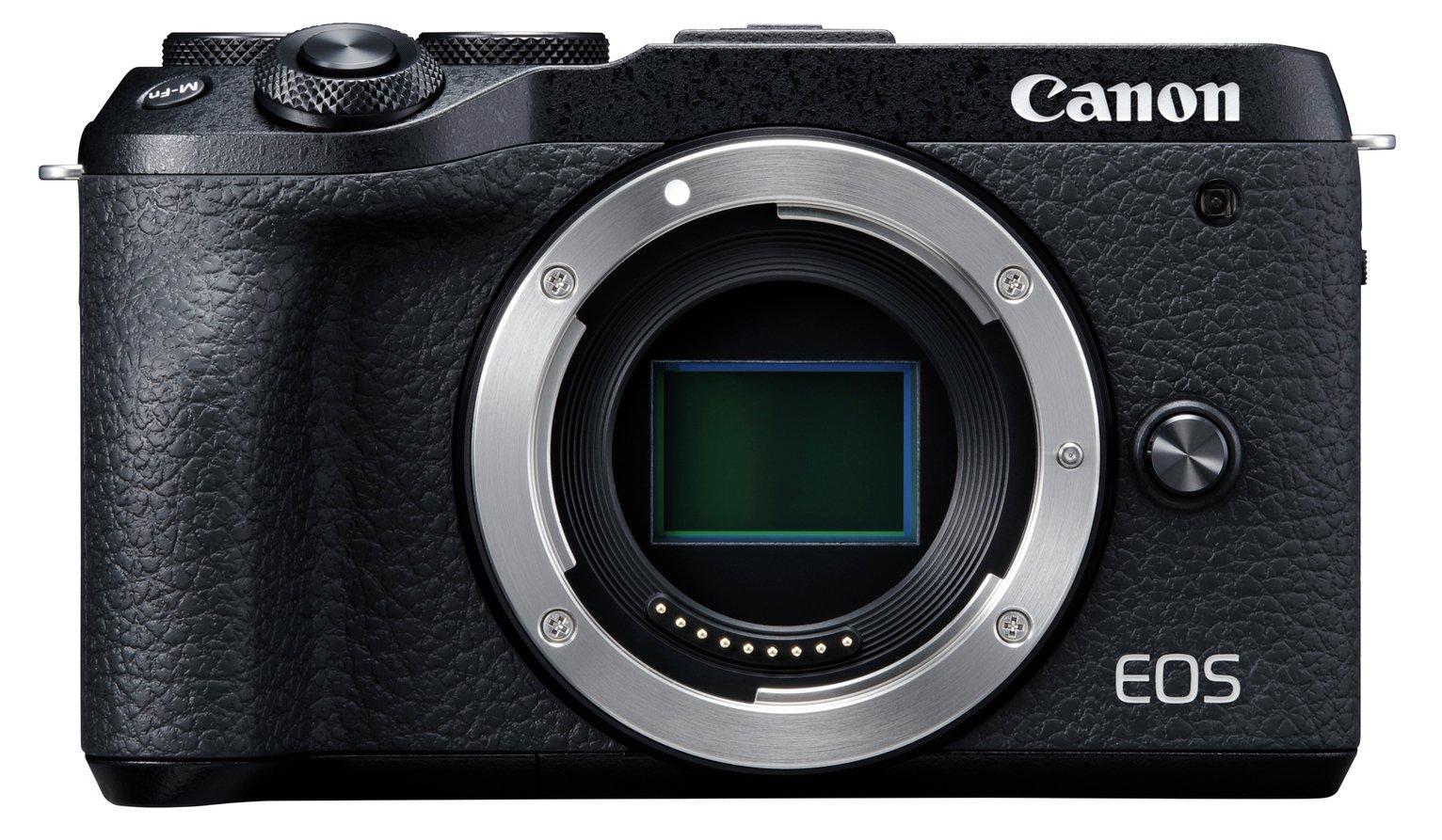 Canon EOS M6 Mark II Mirrorless Camera Body