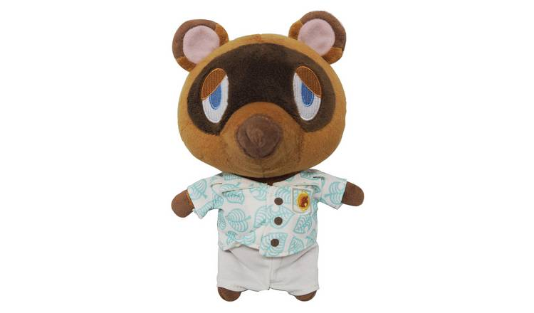 Animal Crossing Tom Nook Aloha Plush Toy