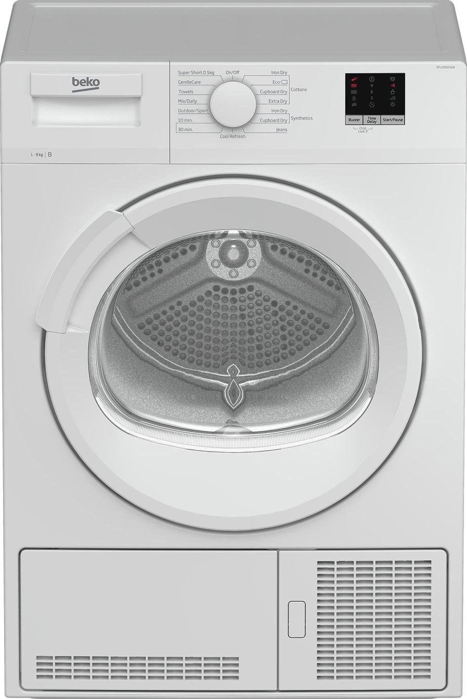 Beko DTLCE90151W 9KG Condenser Tumble Dryer - White