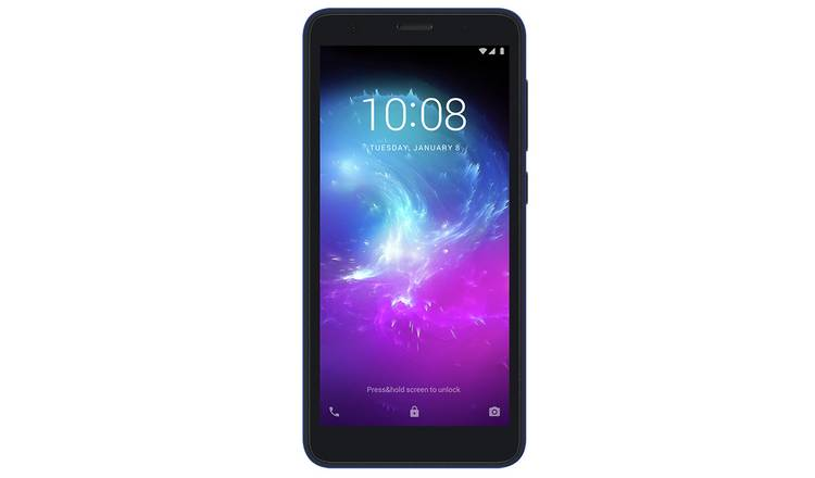 Vodafone ZTE A3 16GB Mobile Phone - Blue