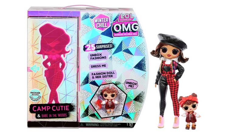 LOL Surprise OMG Winter Chill Fashion Doll Camp Cutie