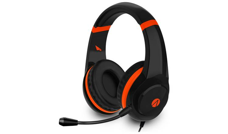 Stealth Raptor Xbox One, PS4, PC Headset - Black & Orange