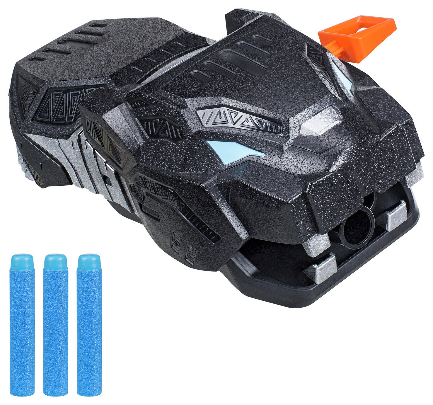 Marvel Black Panther Vibranium Strike Nerf Gauntlet