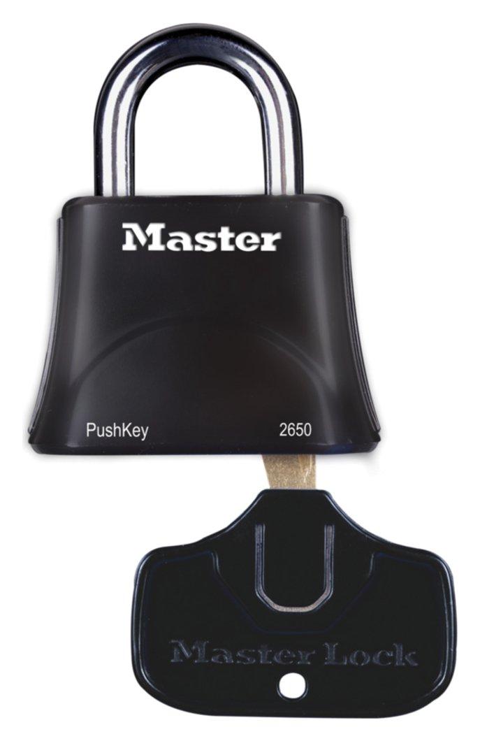 Master Lock PushKey Easy Turn Padlock