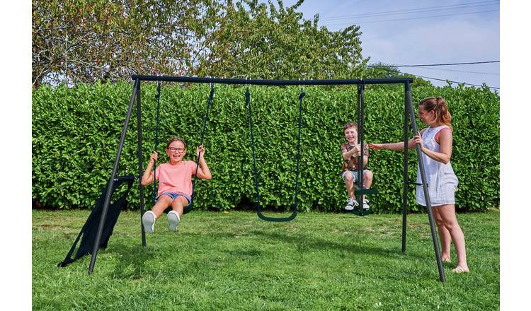 Chad Valley Kids Garden Glider and Swing Set